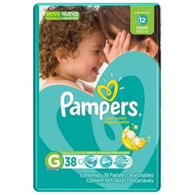 Fralda Pampers Total Confort G 342 Tiras