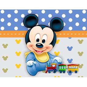 Painel Mickey Baby 1,52 X 1,20m Oferta