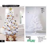 Arbol De Navidad Artificial 2.20metros Blanco 137213
