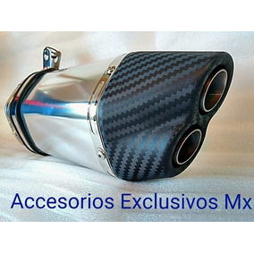 Escape Doble Salida Dominar Fz Pulsar 200ns Pipa Cbr R6 Duke