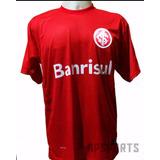 Camisa Do Internacional Vermelha Branca Nova 2017 Barato
