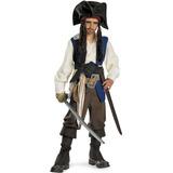 Piratas Del Caribe - El Capitán Jack Sparrow Costume Niño T