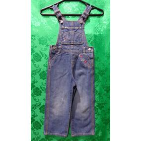 Jardineira Infantil Feminina Jeans Importada Marca Toddler 3