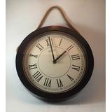 Relógio De Parede Mostrador Romano