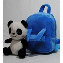 Mochila De Pelucia Panda Frete Grátis 65,00 Reais