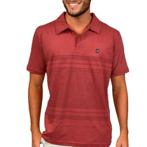 Camisa Polo Hd Square Vermelha