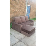 Sofa De 2.20 + Butacon De 70 X 80, Pana Única.fabric.rosario
