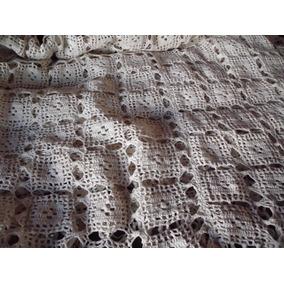 Cubrecama Tejido Crochet Hilo 2 Plazas Ideal Dia De La Madre