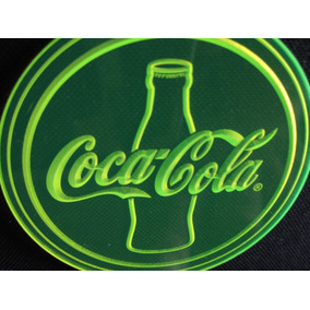 Posa Vaso Coca Cola 3d Fluos!lote X10ud