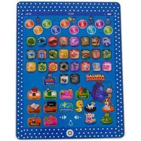 10 Tablet Infantil Educativo Galinha Pintadinha Multifunções
