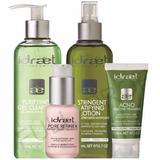 Idraet X 4 Tratamiento De Piel Grasa Acne Y Poros Dilatados