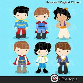 Kit Imprimible Principes Disney Imagenes Clipart Cod 2