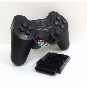Joystick Sony Ps2 Inalámbrico En Caja 6 Meses De Garantía