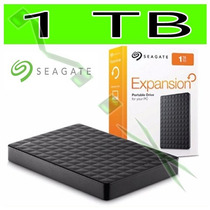 Hd Externo 1tb Portátil Seagate Expansion 1000gb 2,5 Usb 3.0