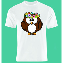 Camiseta Coruja Ref775