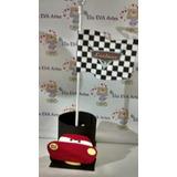 Centro De Mesa Carros Disney Kit C/10 Unid Promocao