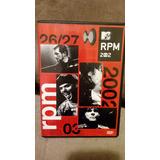Dvd Rpm Mtv 2002 Raridade