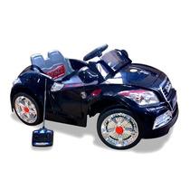 Carro Infantil Audi Sport Eletrico C/ Cr Preto 6v F Gratis