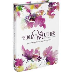 Bíblia Da Mulher De Estudo Ntlh Linguagem De Hoje Com Índice