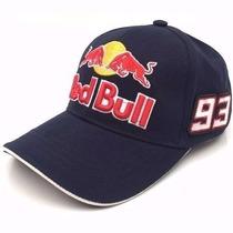 Kit 2 Boné Red Bull Motogp Powered Origina Otima Qualidade!