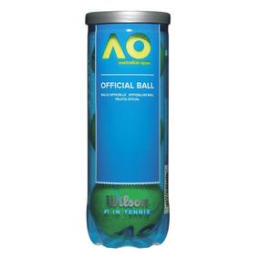 Bola Wilson De Tênis - Australian Open® New - Tubo C/3 - Tên