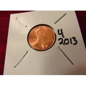 Bb#4 Moneda Shield Escudo Lincoln Cent Usa 2013 Nueva