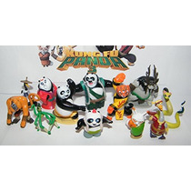 Kung Fu Panda Mini Figura Juguete Set De 13 Con Todo Gas 5,