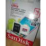 Micro Sd 16gb Sandisk Ultra *alta Velocidad* 80mbs