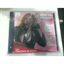 Cd Karaokes Las Canciones De Disney Año 2005 La Bella Y La