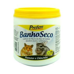 Pó De Mármore Banho Seco Para Hamster Chinchila Prefere 1kg