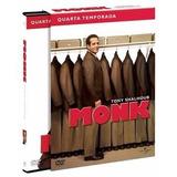 Box Monk 4ª Temporada - Original E Lacrado - 4 Dvd