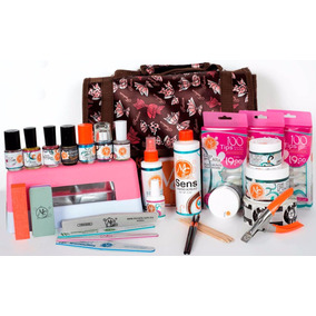 Mega Kit Profesional Para Uñas Mc Nails