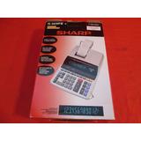 Calculadora De Mesa Sharp El-2630-pii 110v 2 Cores -original