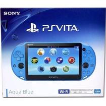 Psvita Ps Vita Sony Wi-fi Original Aqua Blue Azul
