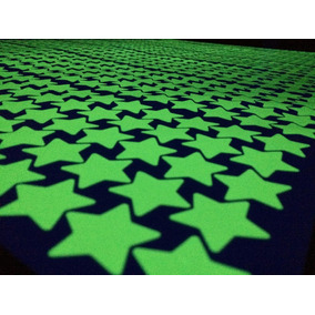 Kit 300 Estrellas Fluorescentes Brillan En La Obscuridad