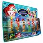 Bonecas Pequenas Sereias Ariel E Suas Irmãs Coleção Disney