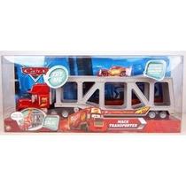 Transportador Mack Y Rayo Mcqueen De Película Cars Pixar