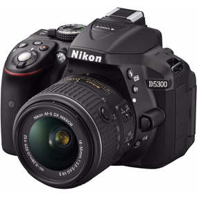 Camara Nikon D5300 24.2 Mp Kit 18-55mm F/3.5-5.6g Vr Ii
