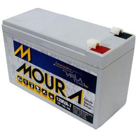 Bateria Estacionária Moura 12v 7a Para Nobreak Alarme Cerca