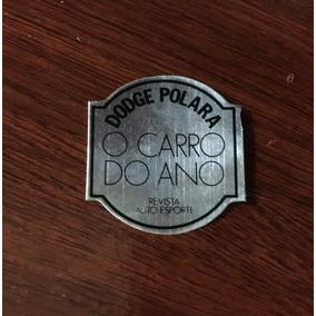 Adesivo Dodge Polara O Carro Do Ano Frete Grátis Raro!!!
