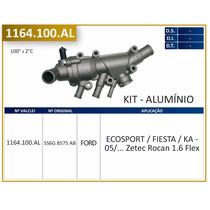 Válvula Termostática Completa De Alumínio Ecosport 1.6 Flex
