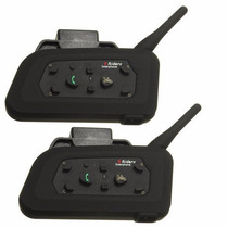 Intercomunicador Para Casco Bluetooth Universales 1km