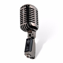 Microfone Arcano Vintage Vt-45bk1 Com Maleta + Pedestal 001