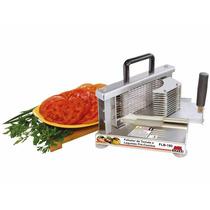 Fatiador De Tomates Manual Industrial Inox Flb-180 Braesi
