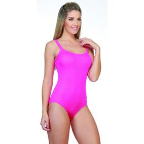 Body Adulto Feminino Alcinha Pink Preto Listrado