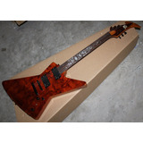 Guitarra Ken Lawrence Explorer James Hetfield