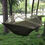 Rede De Descanso Com Tela Mosquiteiro-na Cor Verde