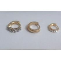 Modelos Piercing Cartilagem Folheado A Ouro - Minúsculos