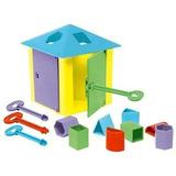 Brinquedo Pedagógico Casa Das Chaves - Estrela