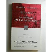 El Zarco/ Navidad En Las Montañas Altamirano Envio Gratis